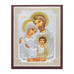 Ikona srebrna Święta Rodzina 31172WOROA