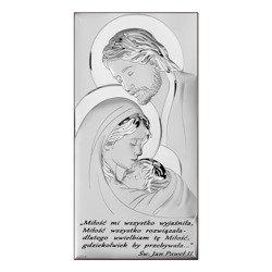 Obrazek Srebrny Święta Rodzina 6380S