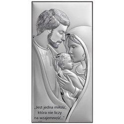 Obrazek Srebrny Święta Rodzina 6653