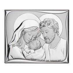Obrazek Srebrny Święta Rodzina DS11