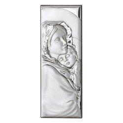 Obrazek srebrny Matka Boska z dzieciątkiem 304829A