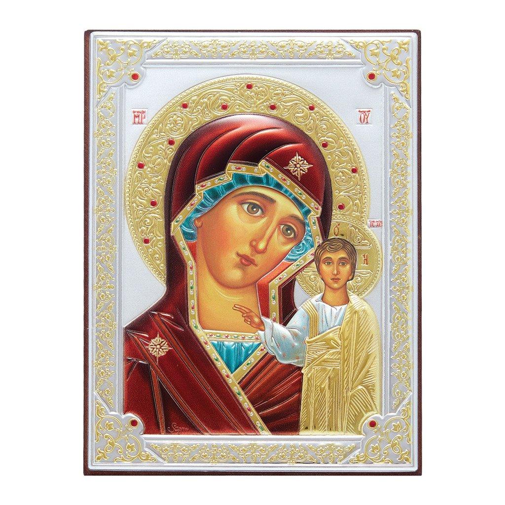 Bardzo dobry Ikona srebrna Matka Boska Kazańska 31175DA | Obrazki srebrne \ Ikony ZX56