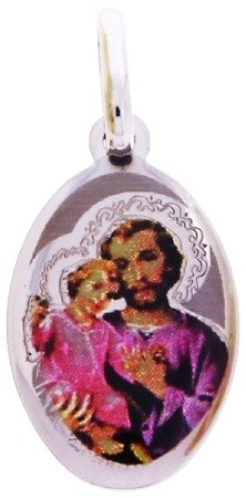 Medalik srebrny (1,6 g) - Święty Józef MK010