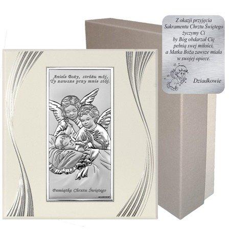 Obrazek srebrny Aniołki 6468SF