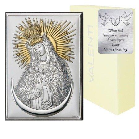 Obrazek srebrny Matka Boska Ostrobramska 18062