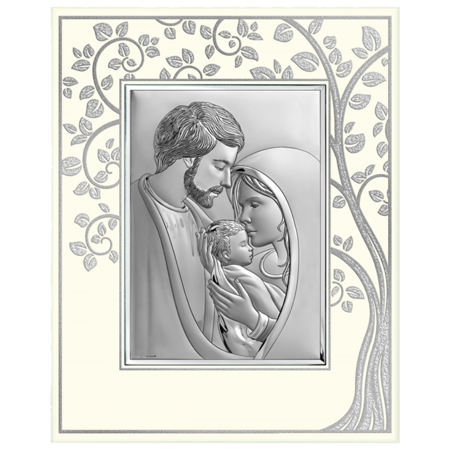 Obrazek srebrny Święta Rodzina - Drzewo Życia 6749P/2XP