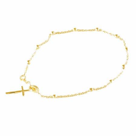 Różaniec srebrny - bransoletka różańcowa na rękę, dziesiątek, 1,6-2,0 g, srebro pr. 925 BRP14