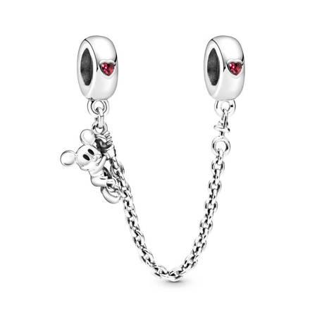 Srebrna przywieszka pr 925 Charms serce oceanu niebieska cyrkonia PAN211