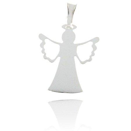 Srebrna zawieszka aniołek MM153